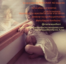perdonar no es permanecer
